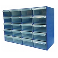 Handy Storage 20 Drawer Compartment Organiser