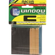 Macsim 75mm Mixed Hang Window Packer - 20 Pack