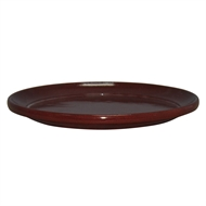 Northcote Pottery Sienna 'Glazed Look' Round Saucer - 300mm