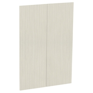 Kaboodle 900mm Mallow Grain Modern Medium Pantry Door - 2 Pack