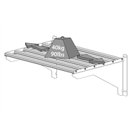 Maze Heavy Duty Greenhouse Shelf Kit