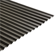 Colorbond 840mm x 16mm x 2.4m Woodland Grey Corrugated Roofing