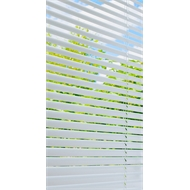 ClearVIEW 25mm Aluminium Slat Venetian - 1500mm x 1500mm White