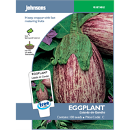 Johnsons Listada Eggplant Vegetable Seeds