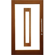 Woodcraft doors 2040 x 820 x 35mm frosted safety glass for Special order french doors