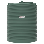 Polymaster 4500L Tall Round Corrugated Poly Water Tank - Rivergum