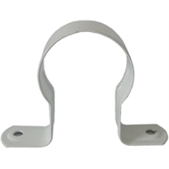Kinetic 40mm White Saddle Stand Off Clips - 5 Pack