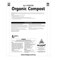 Richgro 25L All Purpose Organic Compost