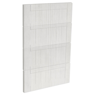 Kaboodle 450mm White Forest Country 4 Drawer Panels