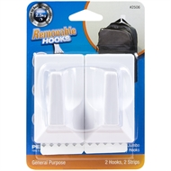 Permastik Home Essentials Jumbo Utility Hooks - 2 Pack
