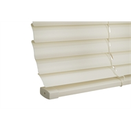 Zone Interiors 180 x 150cm 25mm PVC Dawn Venetian Blind - Light Grey