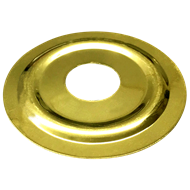 Kinetic 15mm BSP Gold Flat Cover Plate
