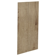 Kaboodle 900mm Spiced Oak Modern Pantry Doors - 2 Pack