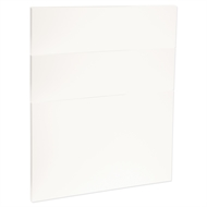 Kaboodle 600mm Sour Cream Modern 3 Drawer Panels