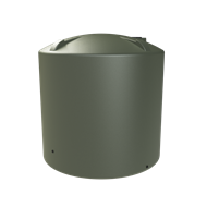 Melro 8000L Poly Round Water Tank - Mist Green