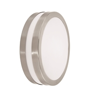 Brilliant Lighting 240V Stainless Steel Small LED Jersey Wall Light