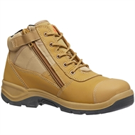 Hard Yakka Size 12 Wheat Side Zip Safety Boot