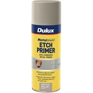 Metalshield 300g Etch Primer Spray Paint  Light Grey