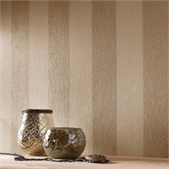 Designer 52cm x 10m JMD Glitterati Cream / Gold Wallpaper