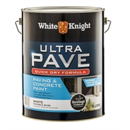 White Knight Ultra Pave 10L White Quick Dry Paving Paint