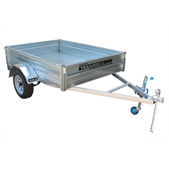 Trailers 2000 7 x 5ft Heavy Duty Galvanised Box Trailer