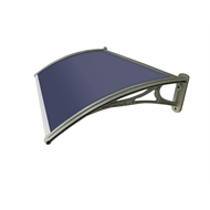 Altamonte 1200 x 700mm Siena Tinted Canopy With Plastic Bracket