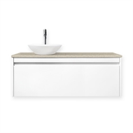 Forme 1200mm Colourstone / Lexicon Quay Organic Wall Hung Vanity