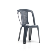 Marquee Anthracite Elba Bistro Resin Chair