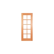Woodcraft Doors 2040 x 820 x 40mm Low E Tinted Flash 1 Entrance Door