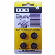 Haron 6mm Centre Points - 4 Pack