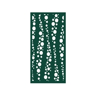 Protector Aluminium 600 x 900mm ACP Profile 27 Decorative Panel Unframed - Dark Green