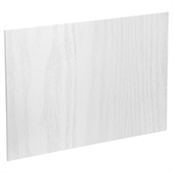 Kaboodle 1200mm Island Back Panel - Provincial White