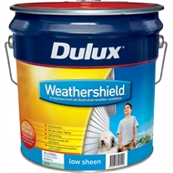 Dulux Weathershield 15L Low Sheen Deep Exterior Paint