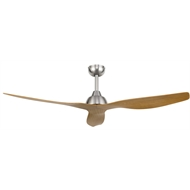 Brilliant Lighting 132cm Satin Nickel Maui Ceiling Fan