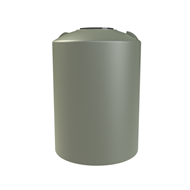 Melro 500L Round Poly Water Tank - Mist Green