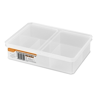 Tactix 163 x 236 x 58mm Medium Storage Container with Divider