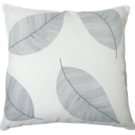 Mimosa 45 x 45cm Grey Leaf Outdoor Cushion