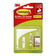 Command™ Adhesive Medium Picture Hanging Strips White - 9 Pack