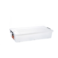 All Set 34L Underbed Storage Container with Wheels