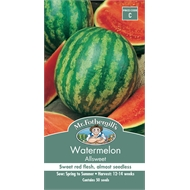 Mr Fothergill's Watermelon Allsweet Seeds