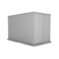 Absco Sheds 1.52 x 3.00 x 1.80m Basic Single Door Shed - Zincalume