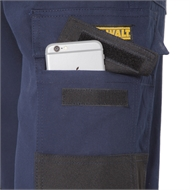 DeWALT Size 34 Navy PRO Stretch Extreme Comfort Workwear Trousers
