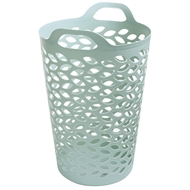 Ezy Storage 74L Pistachio Leaf Flexi Laundry Hamper