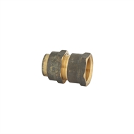 Kinetic 20FL x 20FI Brass Female Flared Compression Union