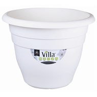 Northcote Pottery 600mm White Villa Round Plastic Pot