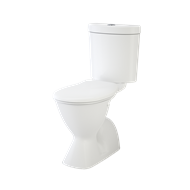 Caroma WELS 4 Star Profile 4 Easy Height Toilet Suite P Trap