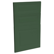Kaboodle 450mm Vivid Basil Heritage 3 Drawer Panels