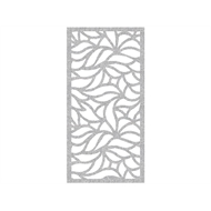 Protector Aluminium 900 x 1200mm Profile 15 Decorative Panel Unframed - Silver Sparkle