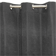 Claremont 1200 x 2230mm Charcoal Astor Eyelet Blockout Curtain