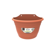 Northcote Pottery 320mm Terracotta Villa Plastic Wall Planter